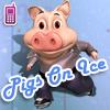 Klizanje na ledu sa prasićima