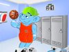 Strumpf košarkaš oblačenje